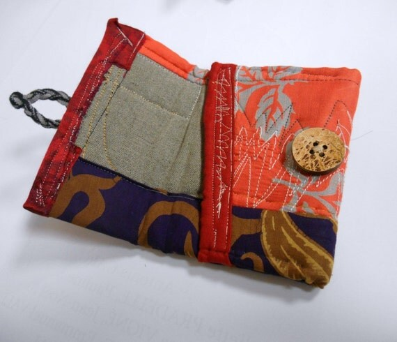Purse POC1502 mostly orange