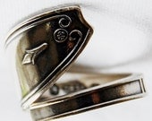 Silver Spoon Ring, name your size