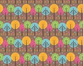 Summer Song 2 by Zoe Pearn for Riley Blake, Summer Song Trees in Brown, yard