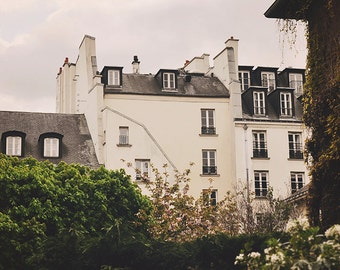 That Placid Age - Paris 74 Art Print, Paris Landscape Photography by Leigh Viner