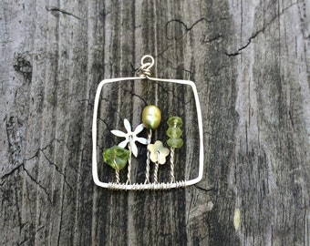 Garden pendant