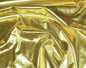 Tissue Lame fabric Gold  ..44 inches..crafts, costume, decor, doll clothing, gift wrap, hair bows, clothing