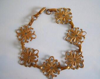 Vintage Brass Bracelet Blank