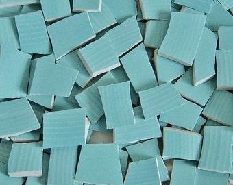 Mosaic Tiles--Aqua Blue-50 Tiles