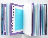 Creative Minds Are Rarely Tidy - Travel Journal - 4.5 x 6 inch A6 - Bucket List Journal - Art Journal