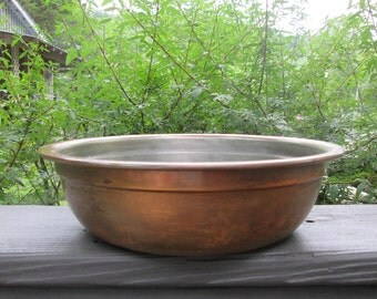 Vintage Copper Clad Bowl - S. Sternau Co.