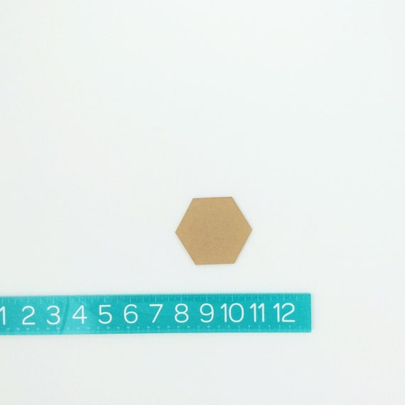 "hexagons PAIR (1.5"")"