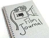 Film Journal - Letterpress Movie Notebook
