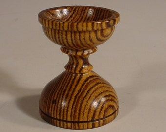Exotic Bocote Egg Stand Number 5936 by Bryan Tyler Nelson