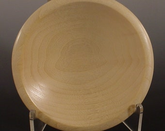 Aspen Ring or Coin Dish Turned Wooden Bowl Number 5989