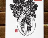 50% off! 2016 Asian Vegetable Wall Calendar