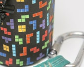 Cold War Games, a Hand Crafted Tetris Chalk Bag - Rock Climbing