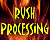 OMG RUSH Fastest possible upgrade to Immediate production and shipment