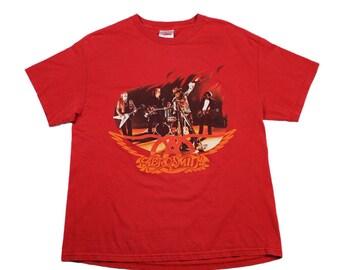 Vintage 90s Aerosmith Concert Shirt Mens Size Large