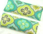Lavender Eye Pillows: Two Extra Long Eye Pillows, Aromatherapy,Organic, Individually Packaged,Headache,Sinus,Gift Idea