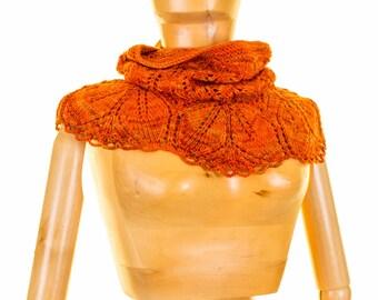 Haruni Cowl Lace Knitting Pattern