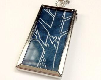 Love Tree - Original Art Necklace