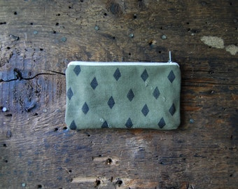 DIAMOND zip pouch