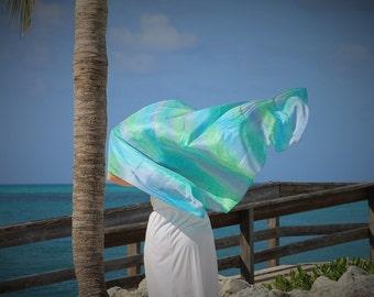 Sea Goddess ... hand painted silk sarong
