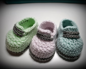 Baby Sneakers size 3-6 months, ready to ship