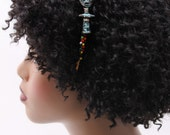 Headband, Natural Hair Headband, Hair Accessories, Hair Jewelry, Natural Hair, Hair Decor, Afropunk, African Akuaba Doll Headband