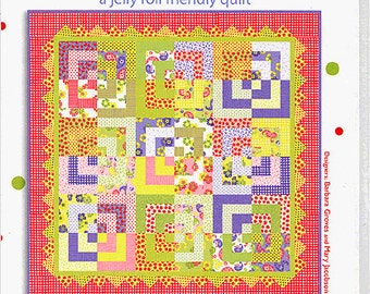 Me & My Sister Designs STRAWBERRY JELLIES Quilt Pattern Quilting Sewing