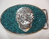 Belt Buckle - Day of The Dead