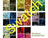 DupionI silk fabric swatch