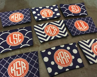 Wine Glass Cozie - Huggie - Personalize your Own Wine Sleeve with Monograms & Patterns