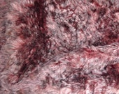 """Schulte KID Mohair 15/16"""" Plum Tipped 1/4y"""