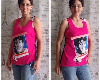 NKOTB Tank Top 90s New Kids On The Block Shirt Concert Shirt Jonathan Knight Ready to Ship