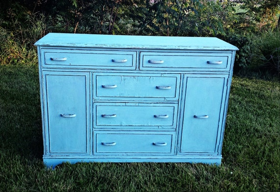 Sold Example Chalk Painted Vintage Furniture Buffet By