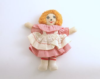 Vintage Doll Raggedy Ann Rag Doll