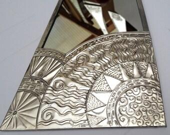 Art Deco sun mirror.