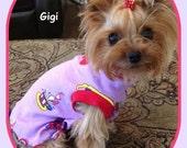 Dog Cat Dress To Order XXSmall to Medium Slip Dress