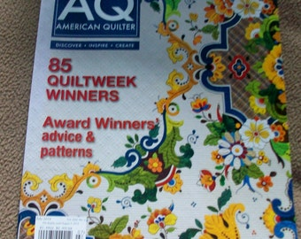 American Quilter Magazine July 2014