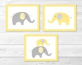 Elephant Nursery Wall Art...
