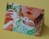 Blowing Bubbles Notecard