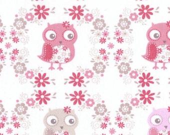 TABLE RUNNER Owl Runner  Pink grey Wedding Bridal Home Decor Party