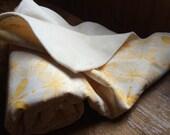 Pattern Flight. Soft Organic Cotton Roundabout Blanket