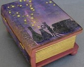 Large Magic Potion Storybook Keepsake Trinket Book Box