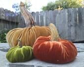 Silk Velvet PUMPKIN KIT - Medium Pumpkin - Choose Your Color