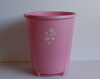 Pink Waste Basket / Trash Can by Rubbermaid
