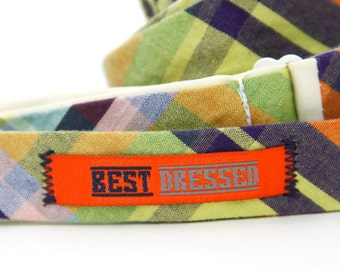 best dressed woven label