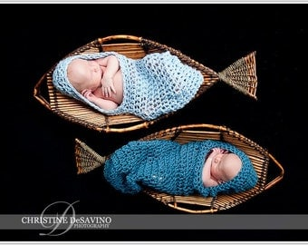 Crochet Baby Hooded Cocoon, Newborn Boy Photo Prop, Baby Boy Cocoon, Baby Boy Cacoon, Newborn Baby Cocoon, Blue