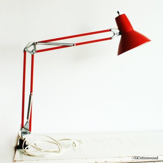 vintage lamp light drafting table light architectural. Black Bedroom Furniture Sets. Home Design Ideas