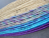 Custom Blonde Turquoise and Purple SE or DE Synthetic Dreads - Dreadlock Accent Kit Choose Your Quantity!