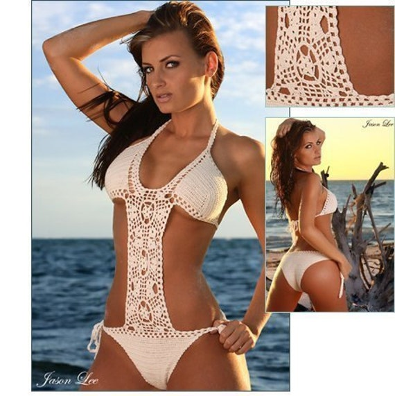 MADE TO ORDER handmade crochet summer beach swimming suit