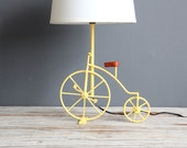 Yellow Bicycle Lamp