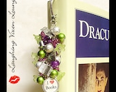 Custom Bookmark - Personalized Bookmark - Book Lovers Bookmark - Library Bookmark - Book Charms - Reading Bookmark